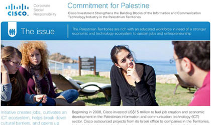 cisco palestinian article